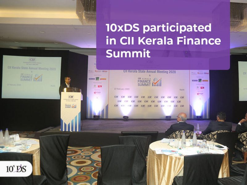 10xDS participated in CII Kerala Finance Summit