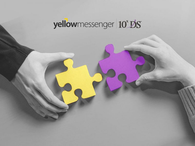 Yellow Messenger 10xDS Partnerhsip for Chatbot Solutions