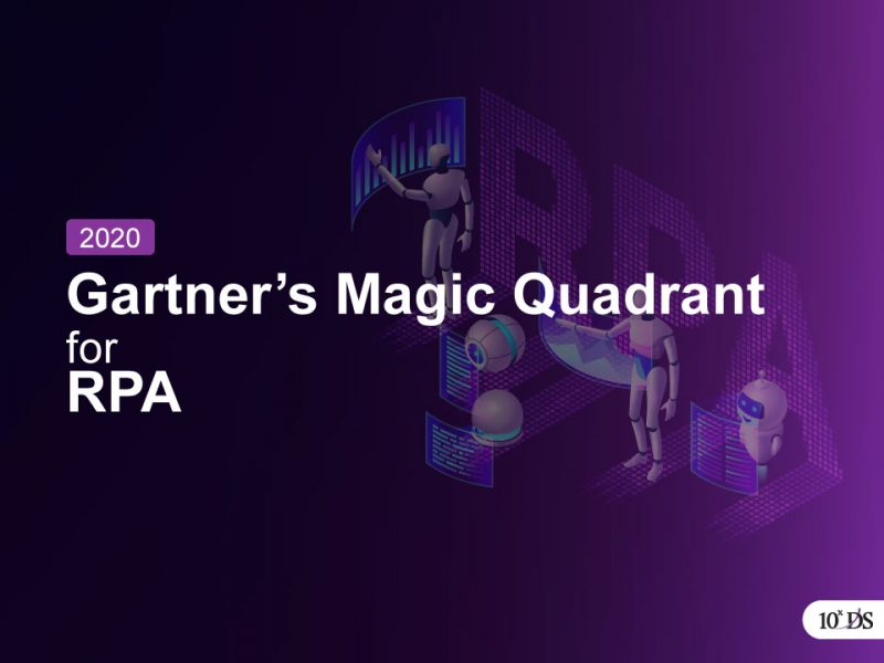 Gartner's Magic Quadrant for RPA 2020