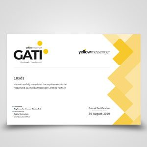 Yellow Messenger Gati Certified Partner