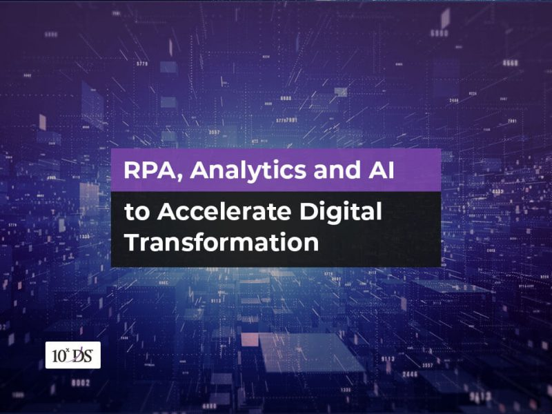 RPA, Analytics. AI Digital Transformation