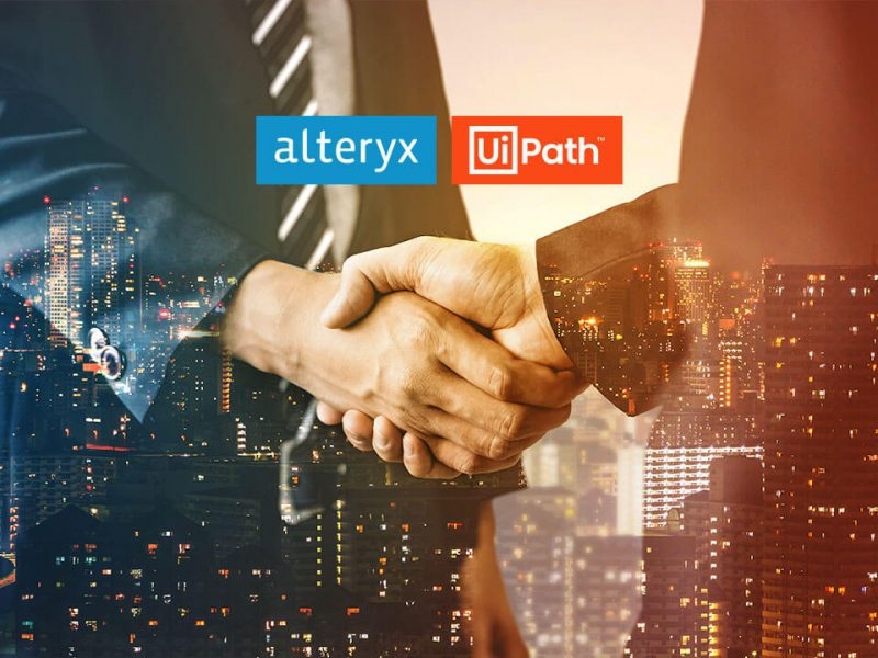 UiPath and Alteryx partnership for end to end automation