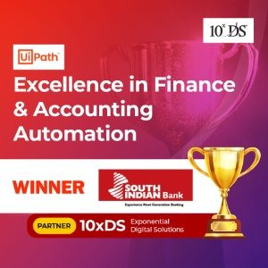 SIB partnering 10xDS wins Uipath award